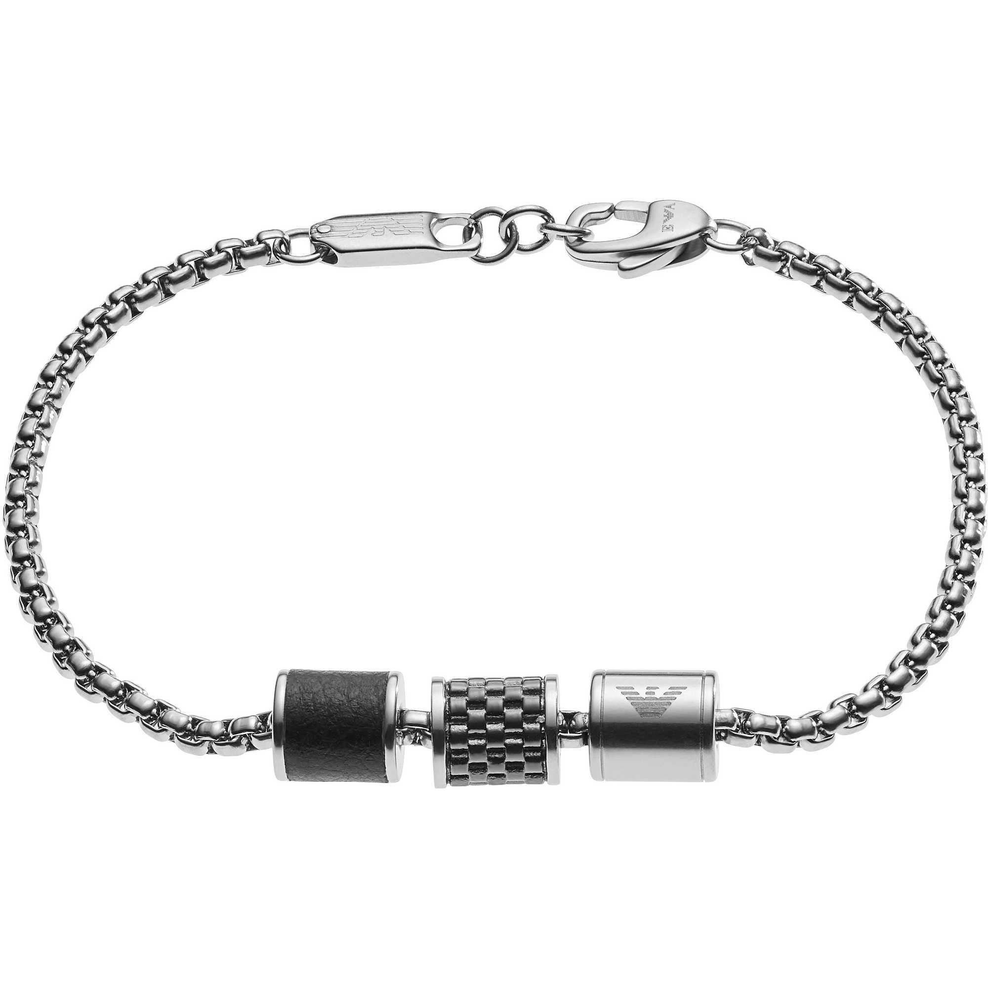 bracelet man jewellery Emporio Armani EGS2382020 bracelets Emporio ... 7b8170c75e1