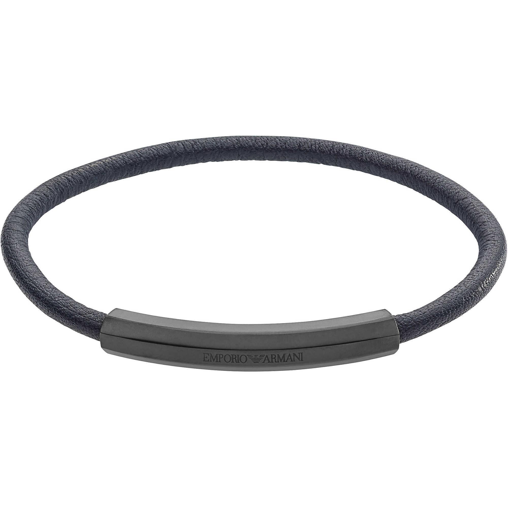 bracelet man jewellery Emporio Armani EGS2403060 bracelets Emporio ... da23779b668
