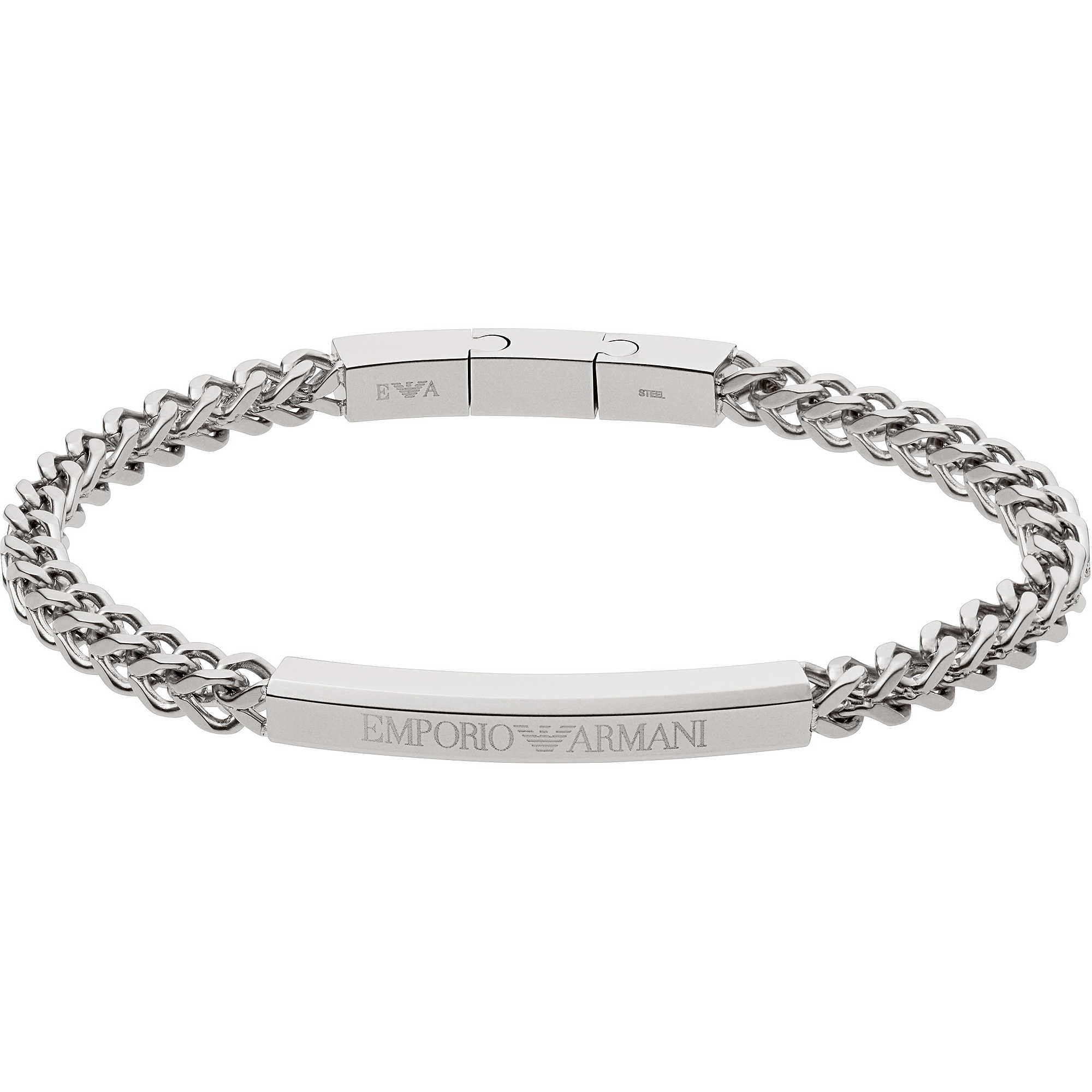bracelet man jewellery Emporio Armani EGS2416040 bracelets Emporio ... bd8f07400b9