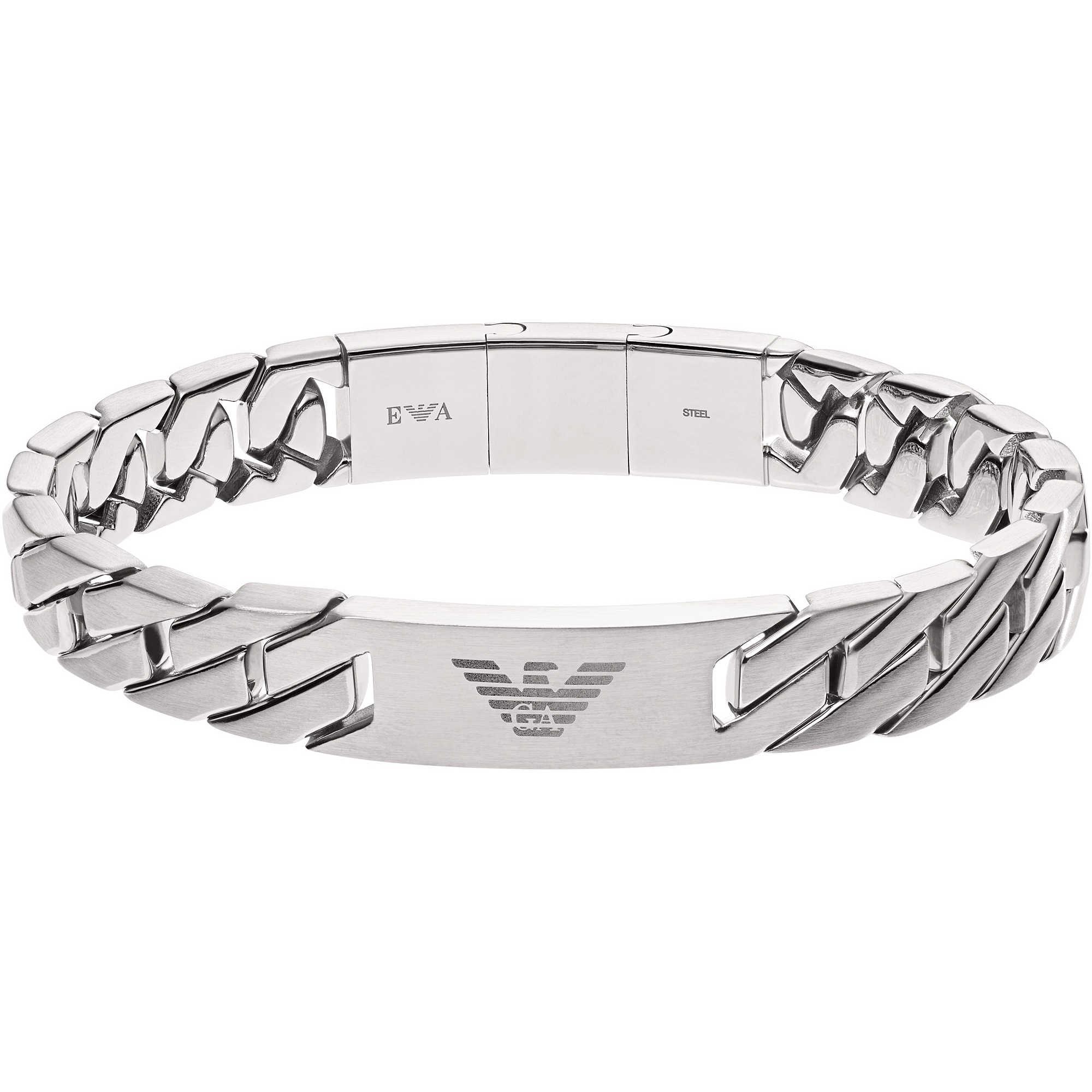 bracelet man jewellery Emporio Armani EGS2435040 bracelets Emporio ... f9bd2c4a46e