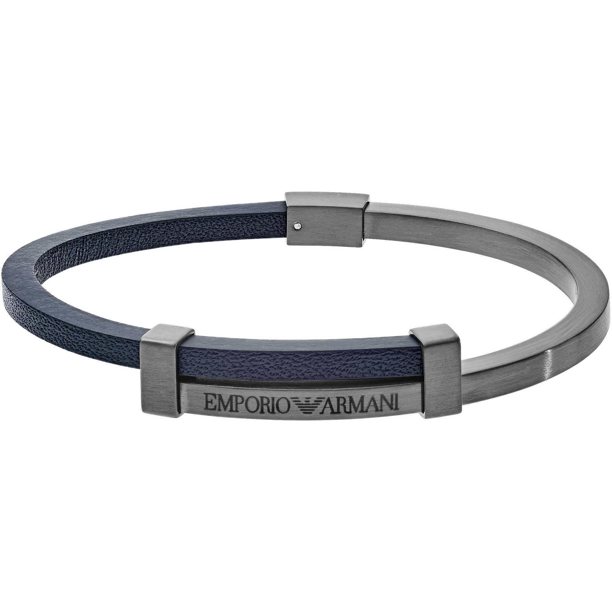 bracelet man jewellery Emporio Armani EGS2502060 bracelets Emporio ... ccca4b98c7e