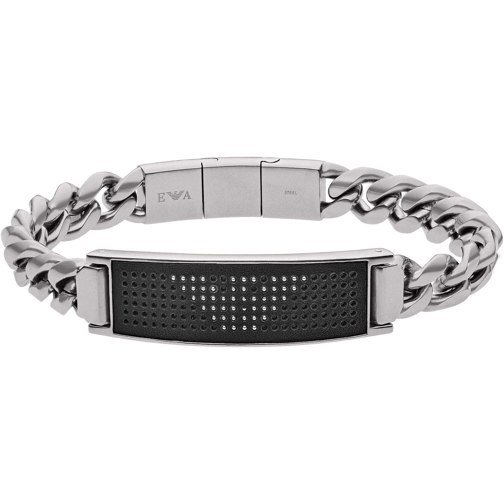 bracelet man jewellery Emporio Armani EGS2548040 bracelets Emporio ... 6f17ebbc833