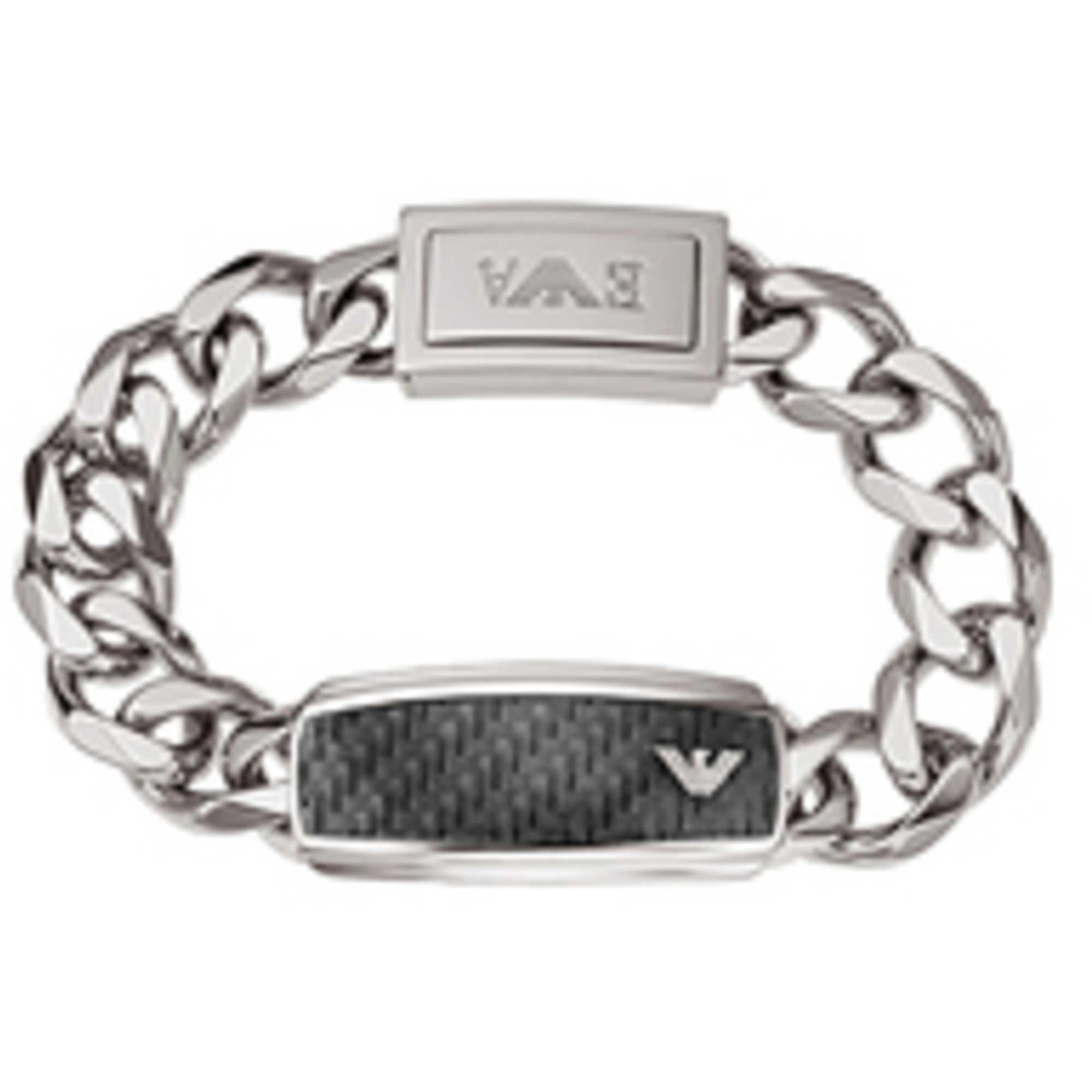 bracelet man jewellery Emporio Armani Signature EGS1688040 bracelets ... 9f9d3a3dad5