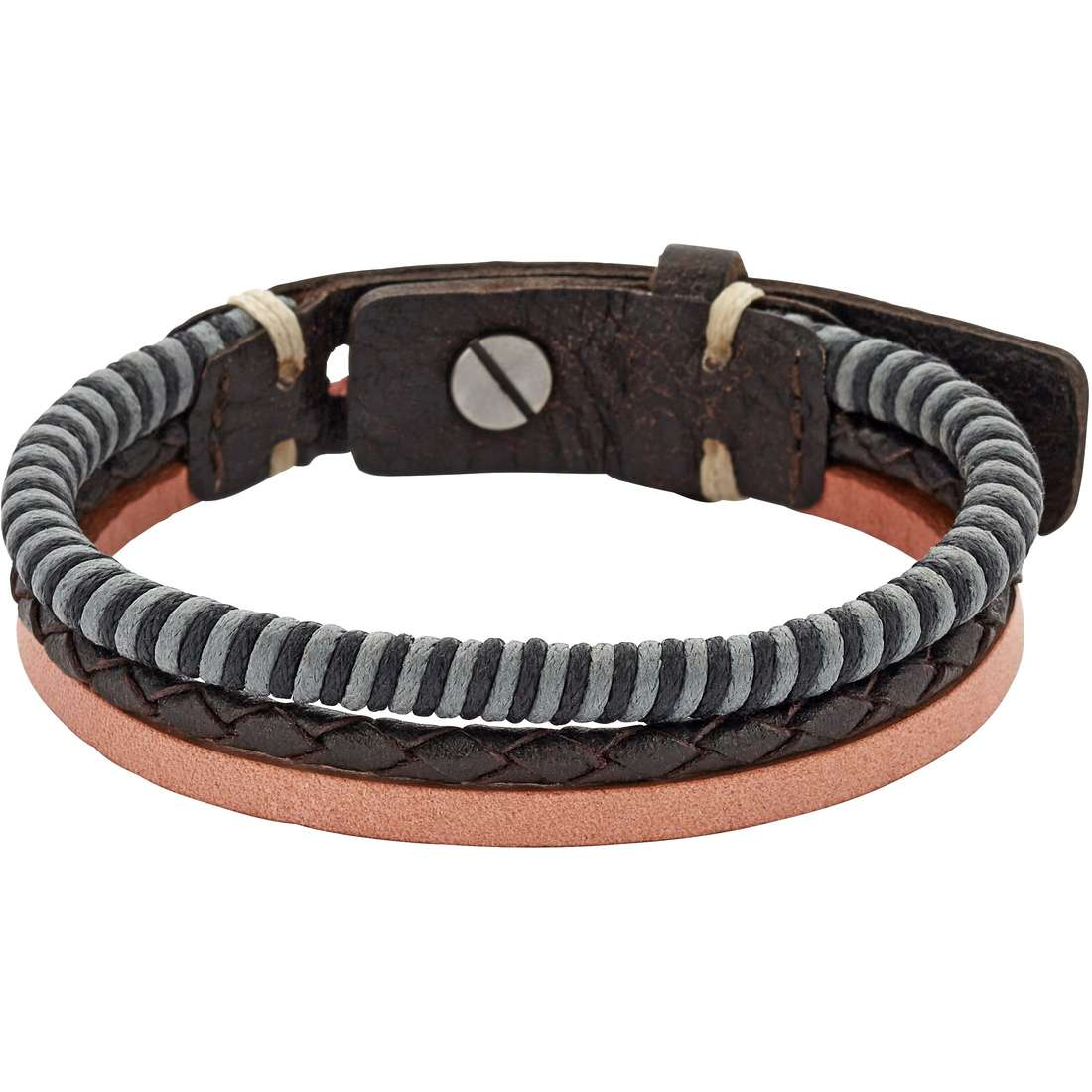 bracelet man jewellery Fossil Fall 15 JA6757797