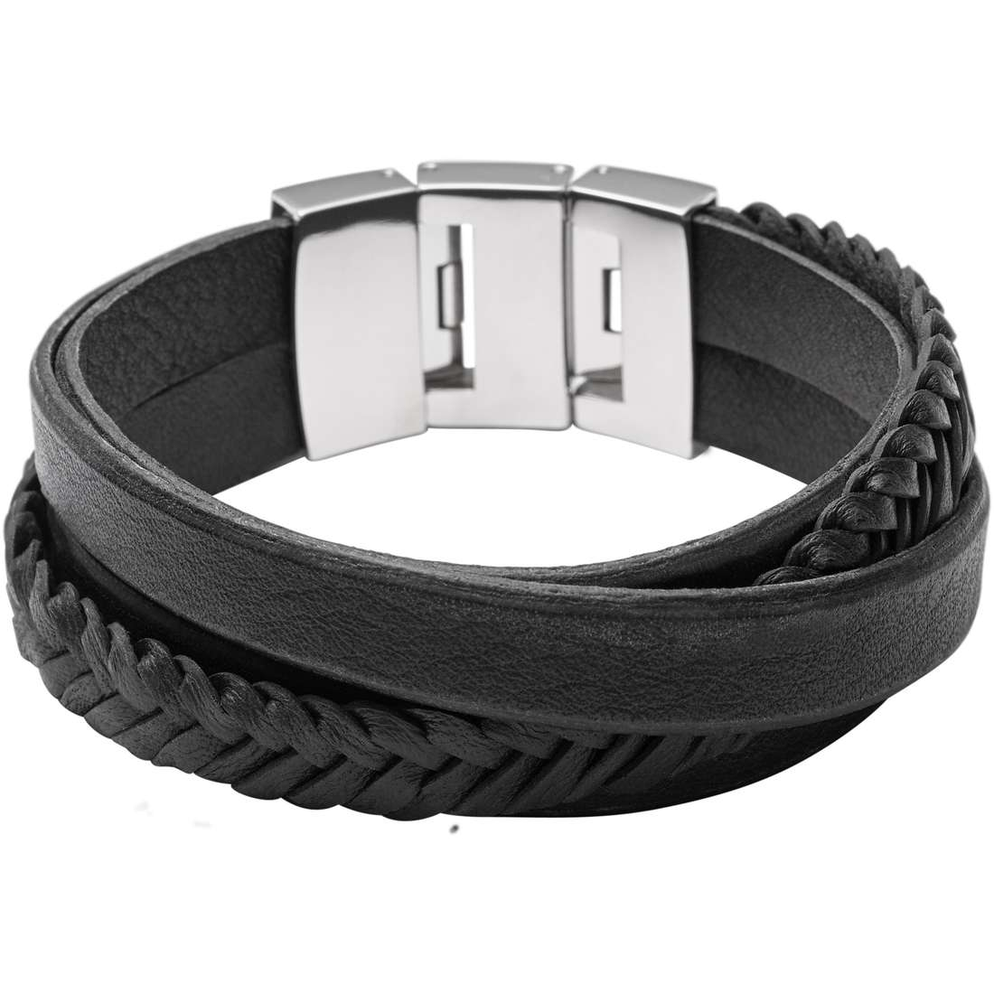 bracelet man jewellery Fossil Holiday 15 JF02079040