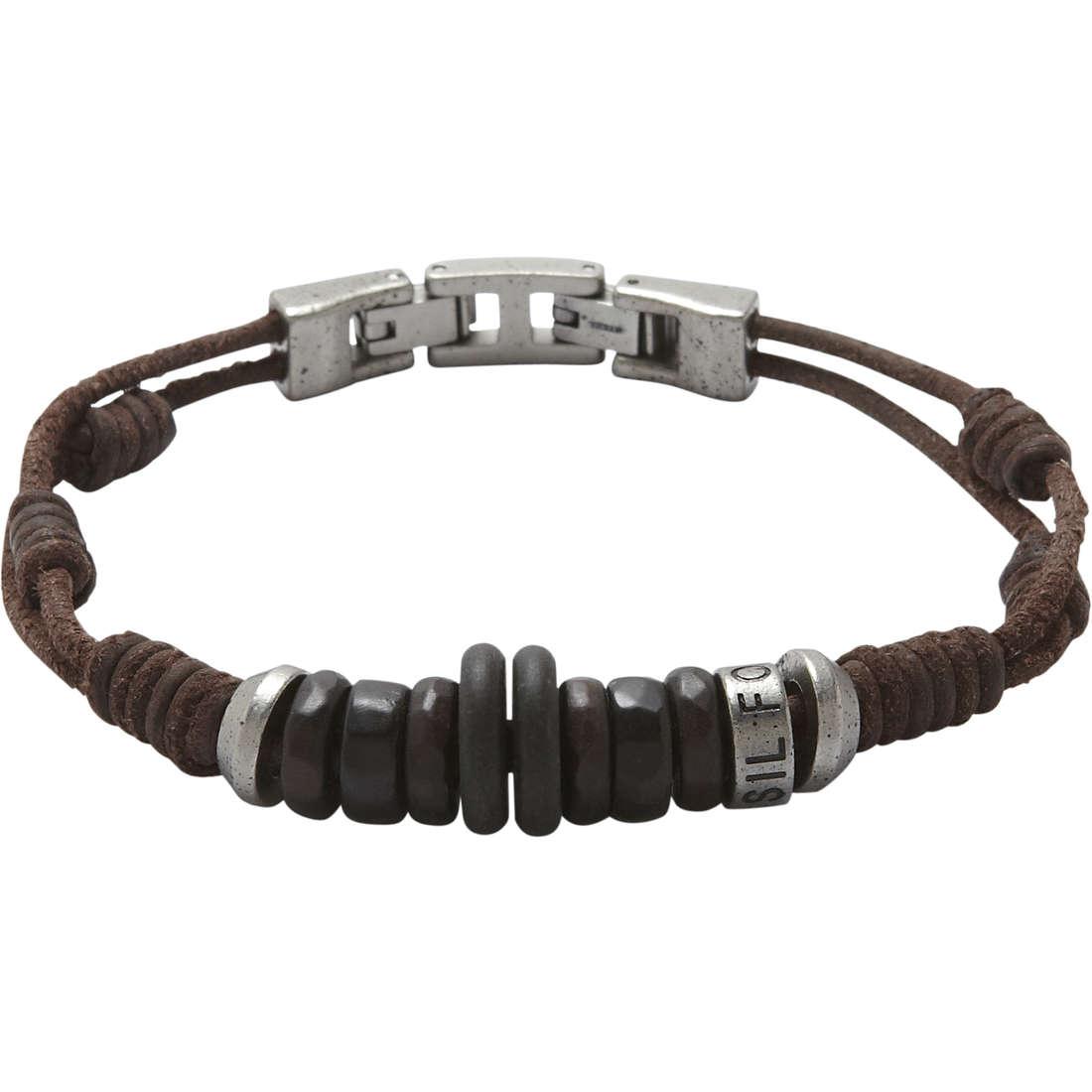 bracelet man jewellery Fossil JF87136040