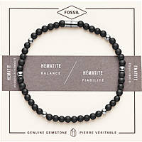 bracelet man jewellery Fossil Wellness JF02834040