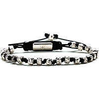 bracelet man jewellery Gerba Silver And Zircons PEPITA SILVER
