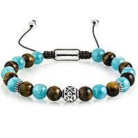 bracelet man jewellery Gerba Stone Classic BLUE EARTH