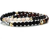 bracelet man jewellery Gerba Stone Classic ELEGANTE DOUBLE