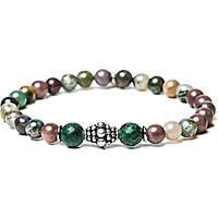 bracelet man jewellery Gerba Stone Classic FOREST