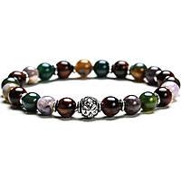 bracelet man jewellery Gerba Stone Classic GREEN PASSION