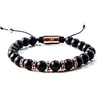 bracelet man jewellery Gerba Stone Classic MATTE ROSÈ