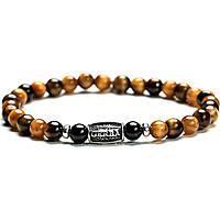 bracelet man jewellery Gerba Stone Classic TIGER EYE