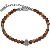 bracelet man jewellery Jack&co Cross-Over JUB0002