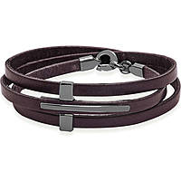 bracelet man jewellery Jack&co Cross-Over JUB0040