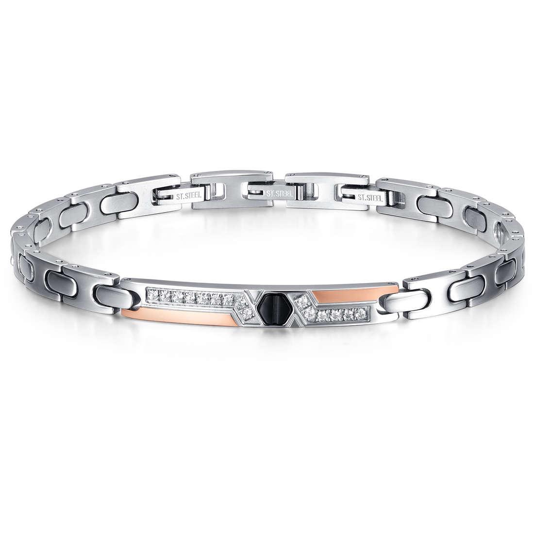 bracelet man jewellery Luca Barra Elegance LBBA780