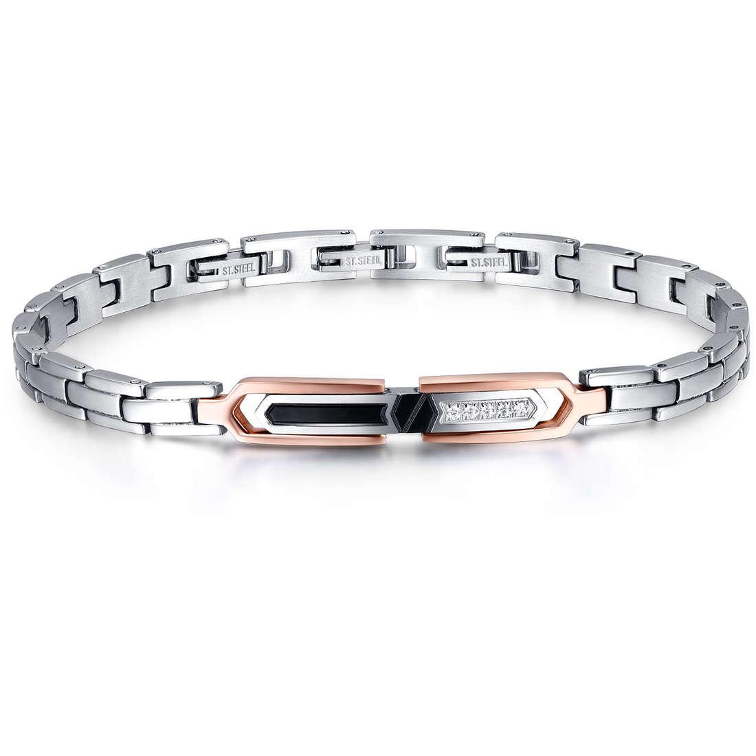 bracelet man jewellery Luca Barra Elegance LBBA784