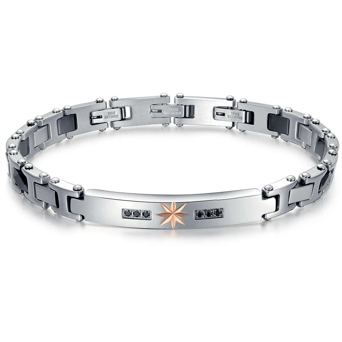 bracelet man jewellery Luca Barra LBBA461