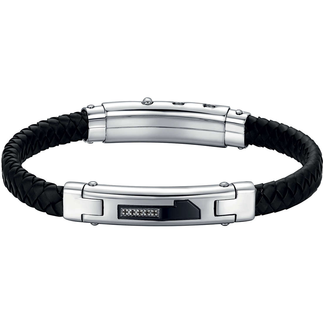 bracelet man jewellery Luca Barra LBBA487