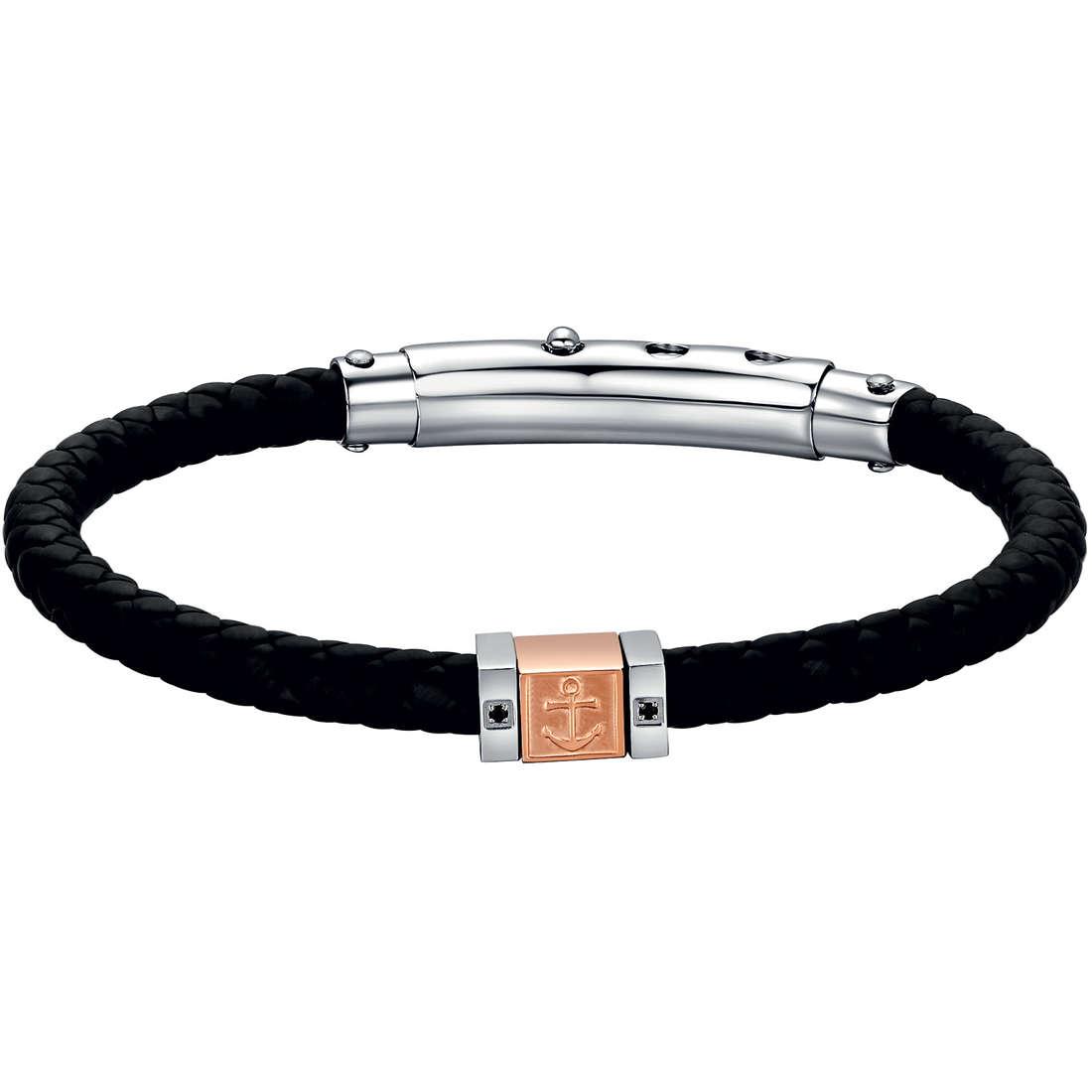 bracelet man jewellery Luca Barra LBBA490