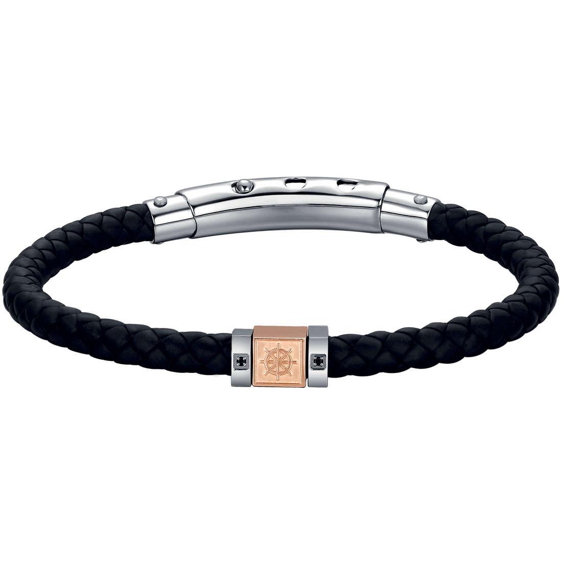 bracelet man jewellery Luca Barra LBBA491