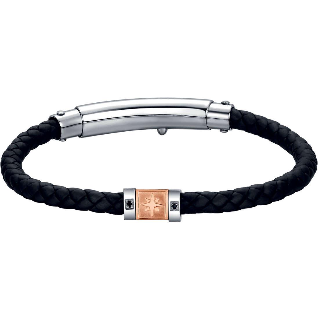 bracelet man jewellery Luca Barra LBBA493