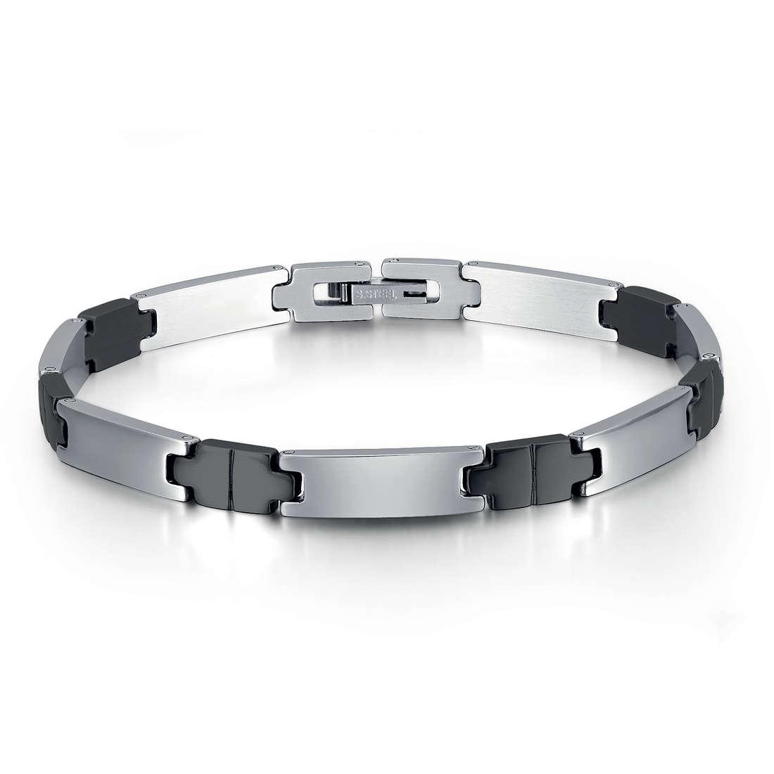bracelet man jewellery Luca Barra LBBA507