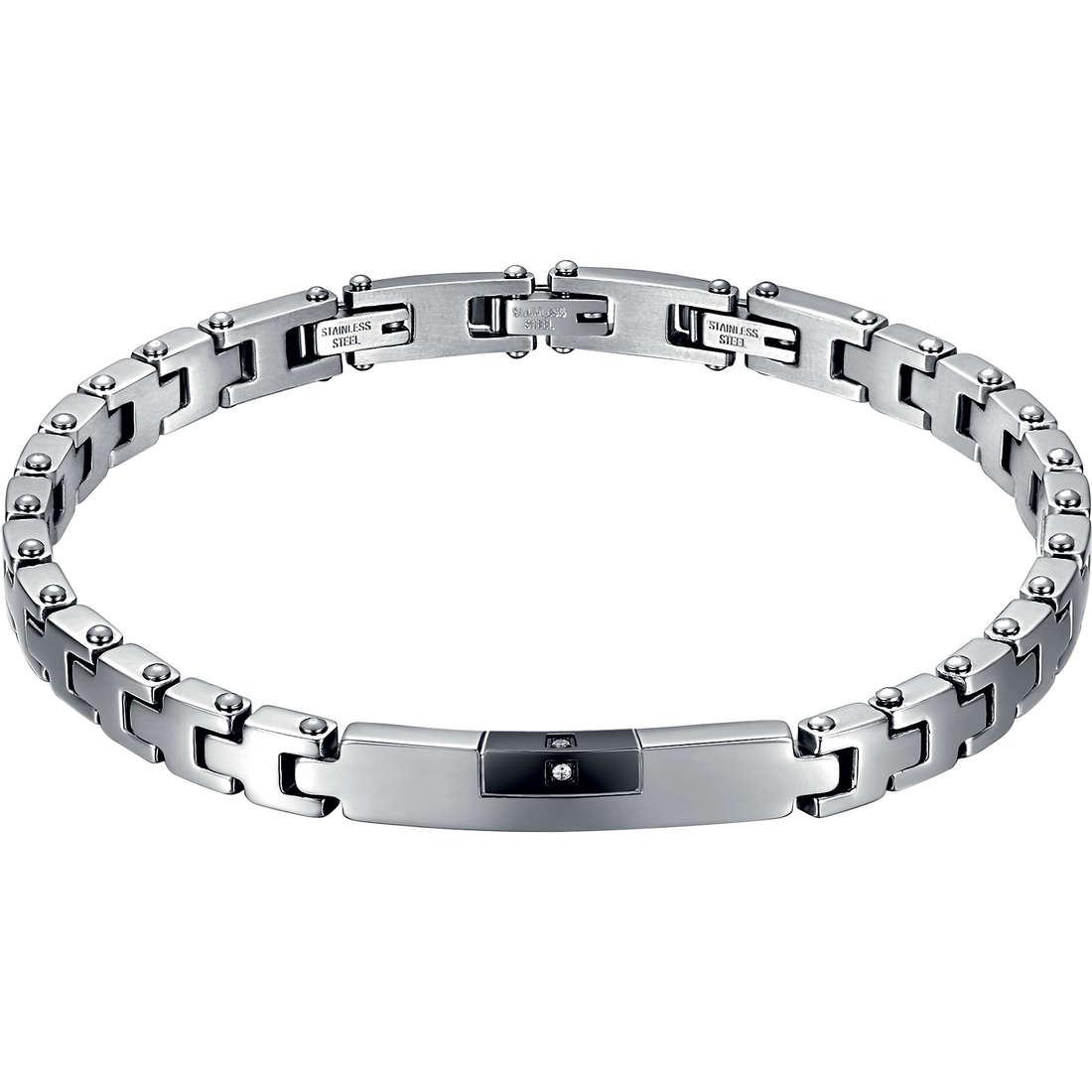 bracelet man jewellery Luca Barra LBBA518
