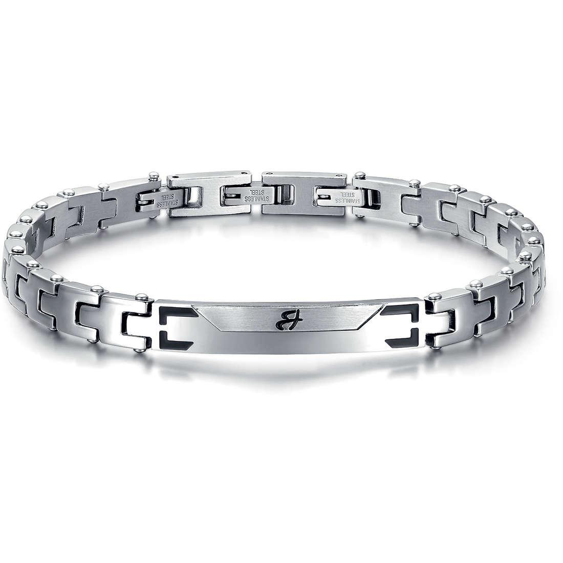 bracelet man jewellery Luca Barra LBBA525