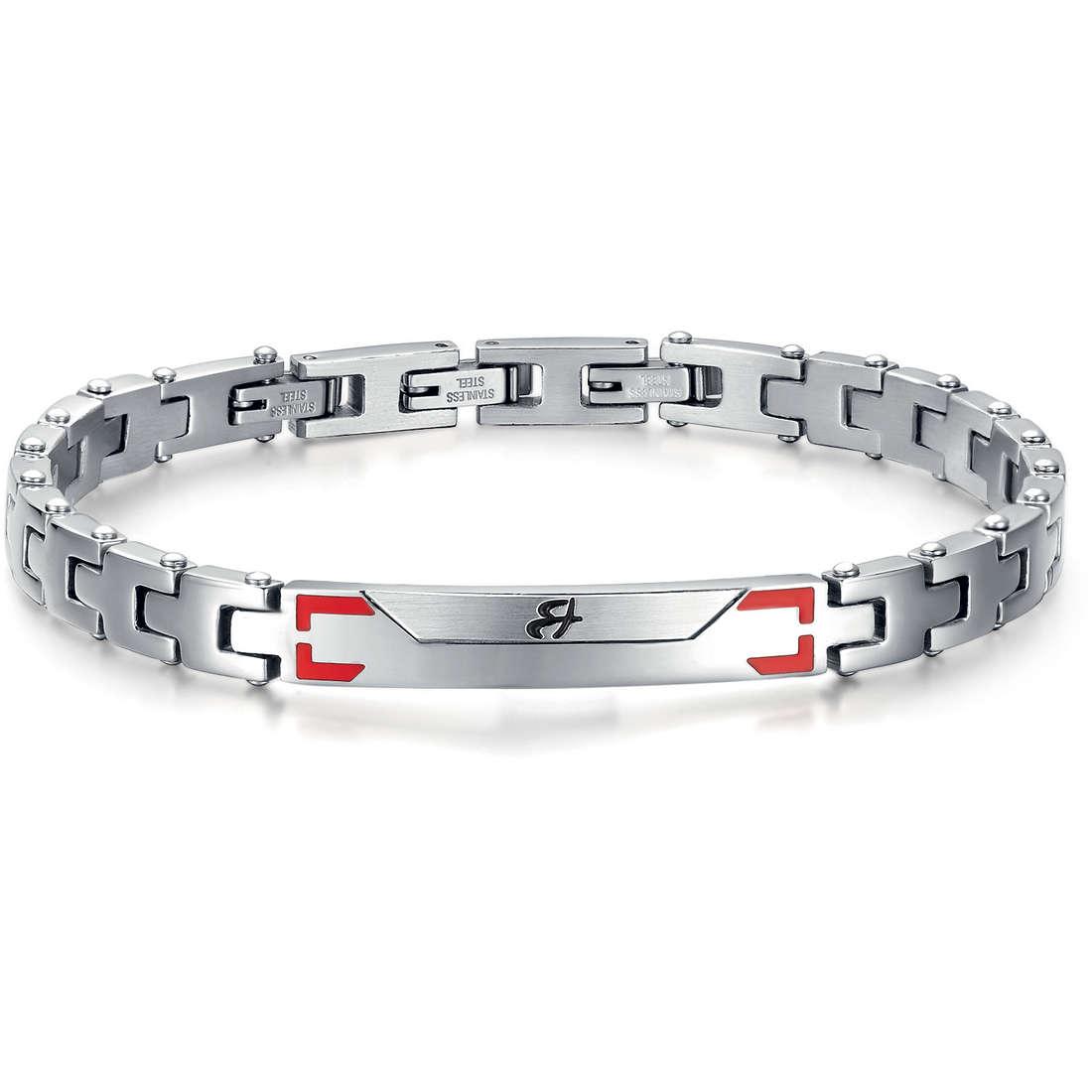 bracelet man jewellery Luca Barra LBBA527
