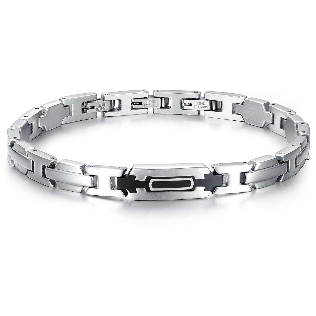 bracelet man jewellery Luca Barra LBBA531