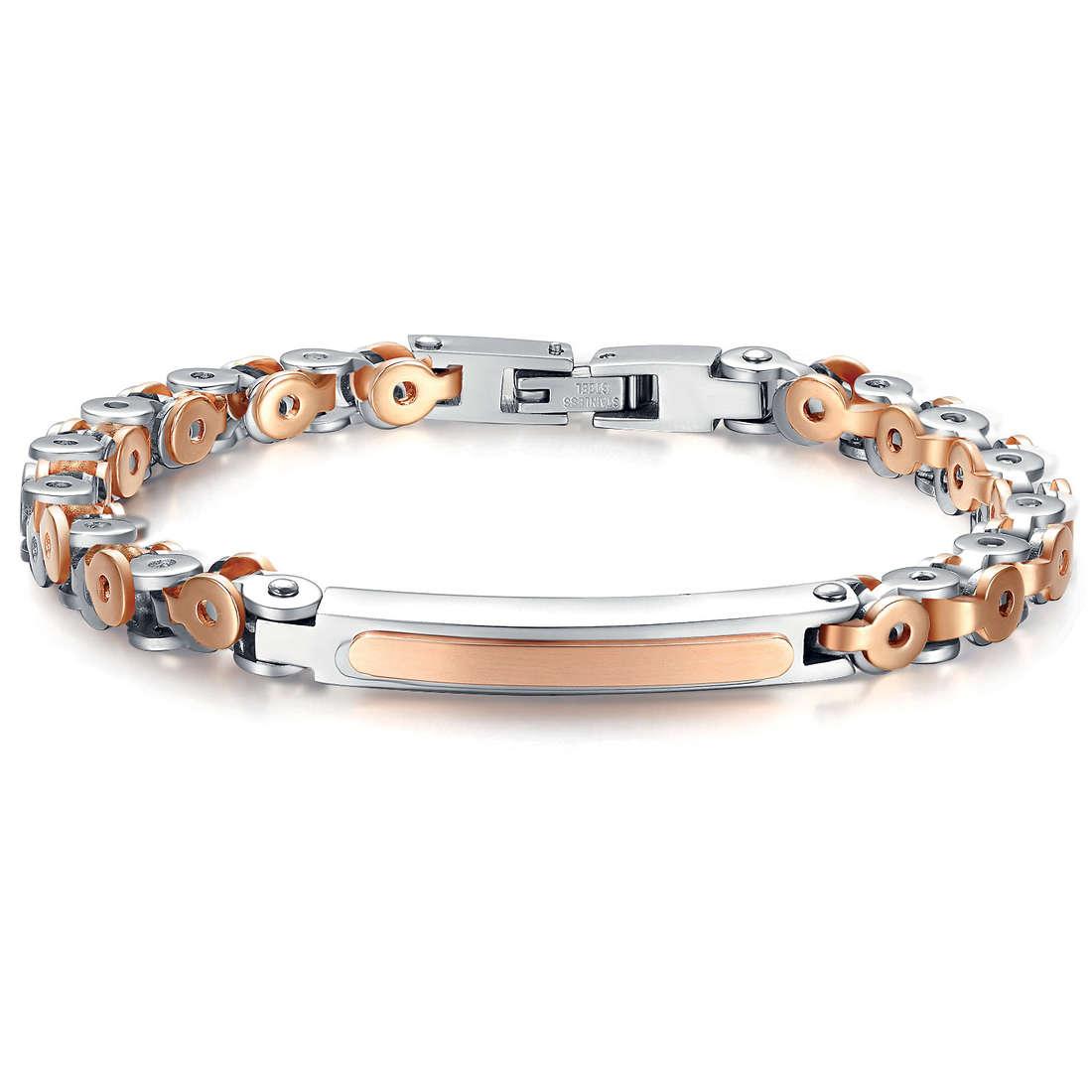 bracelet man jewellery Luca Barra LBBA538