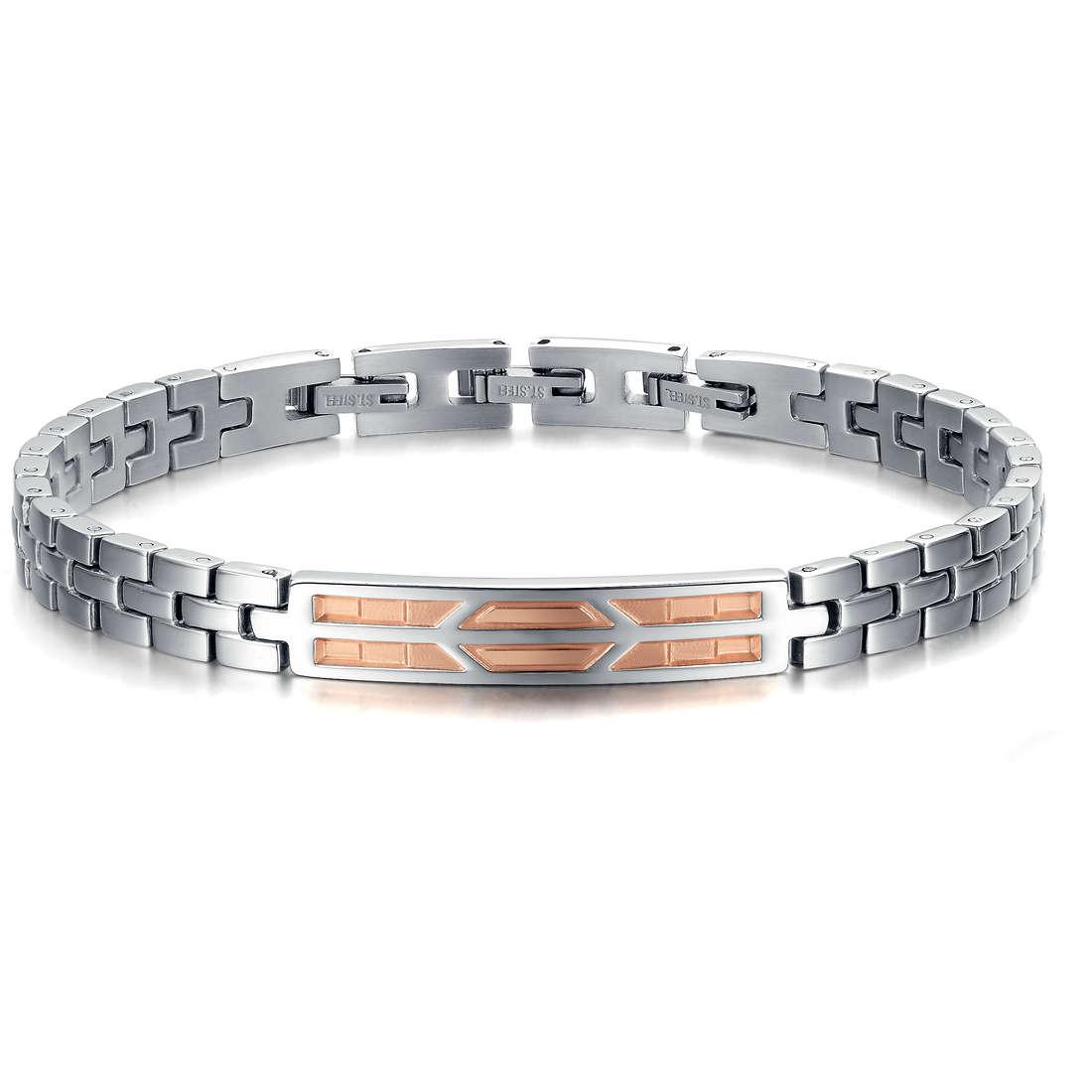 bracelet man jewellery Luca Barra LBBA558