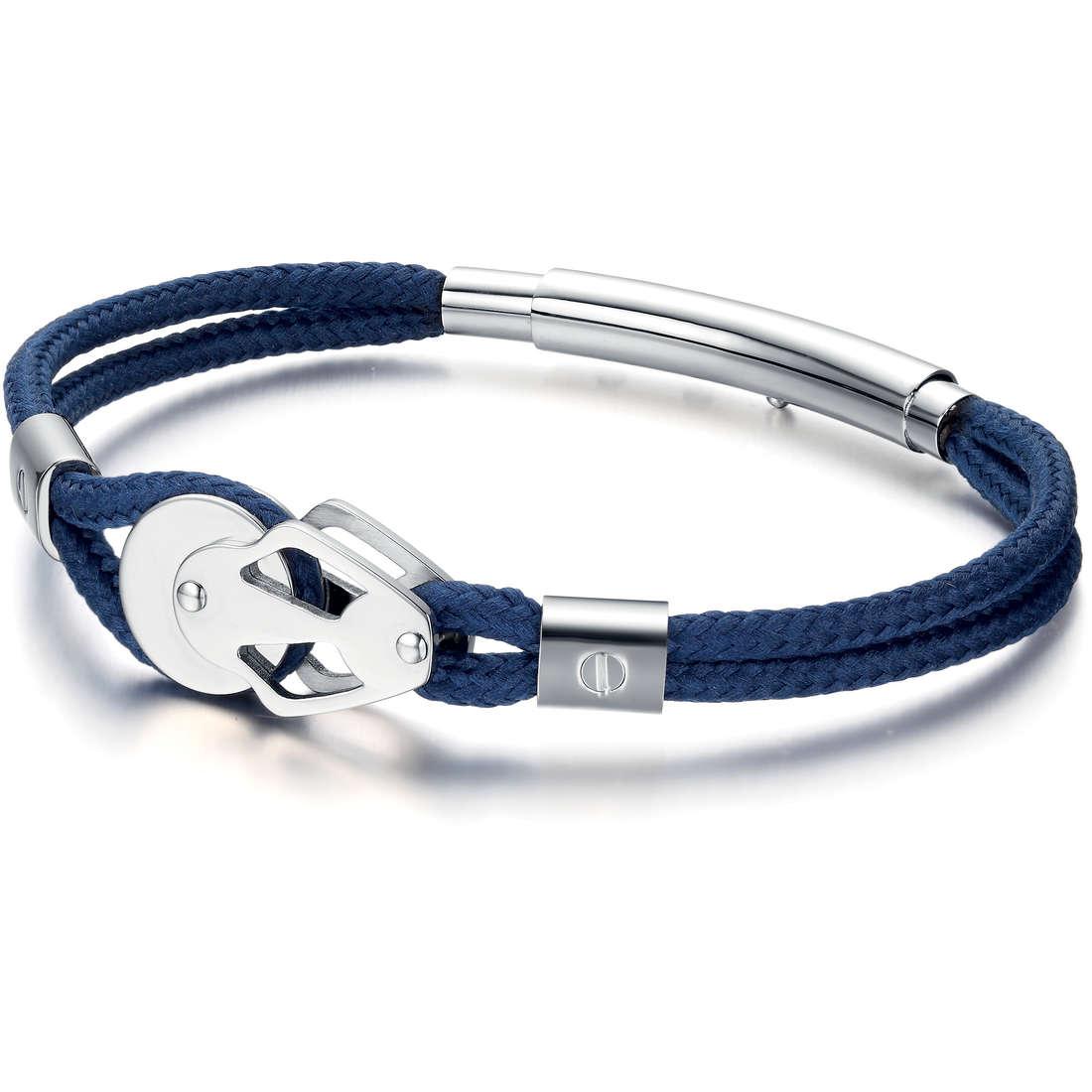 bracelet man jewellery Luca Barra LBBA567