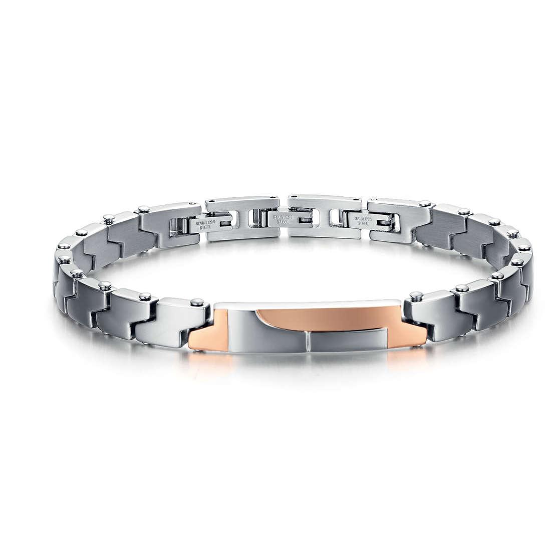 bracelet man jewellery Luca Barra LBBA590