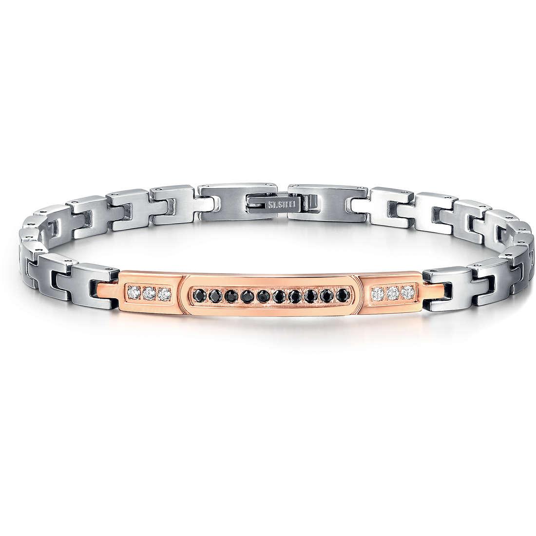 bracelet man jewellery Luca Barra LBBA606