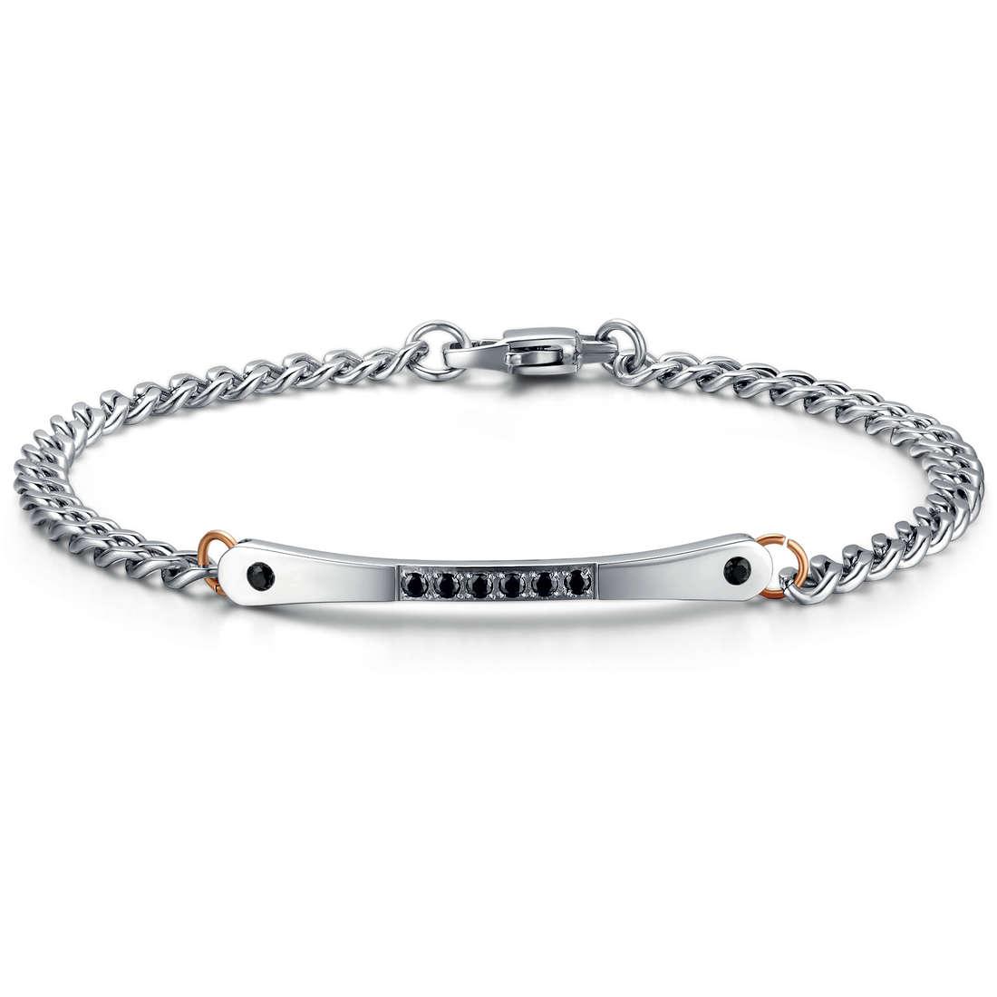 bracelet man jewellery Luca Barra LBBA612