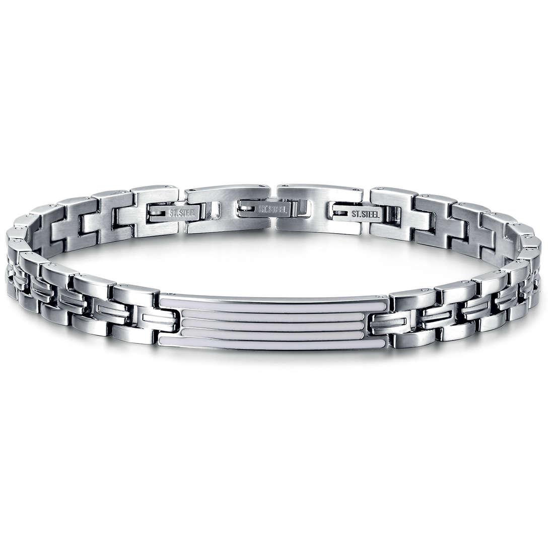 bracelet man jewellery Luca Barra LBBA622