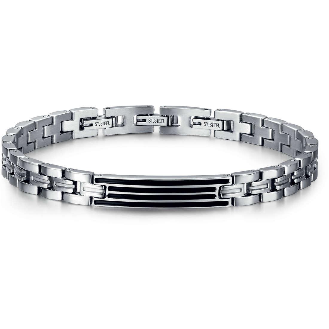 bracelet man jewellery Luca Barra LBBA623