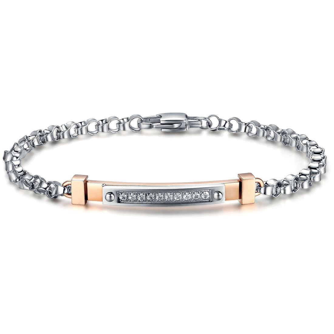 bracelet man jewellery Luca Barra LBBA627