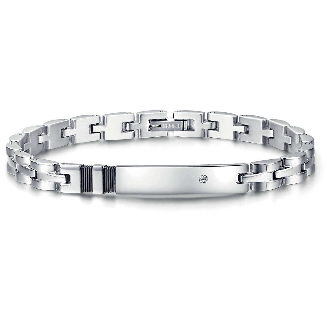 bracelet man jewellery Luca Barra LBBA628