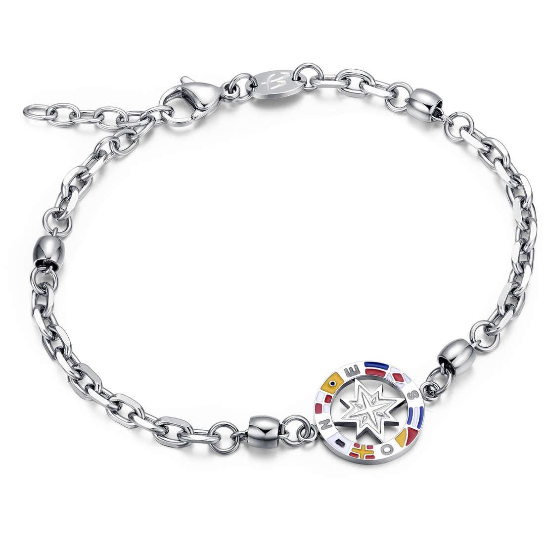 bracelet man jewellery Luca Barra LBBA681
