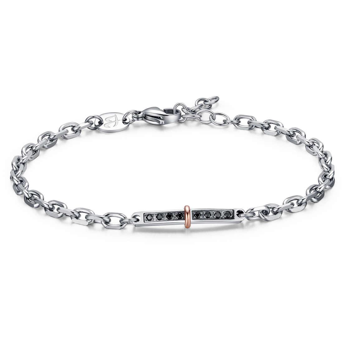 bracelet man jewellery Luca Barra LBBA701