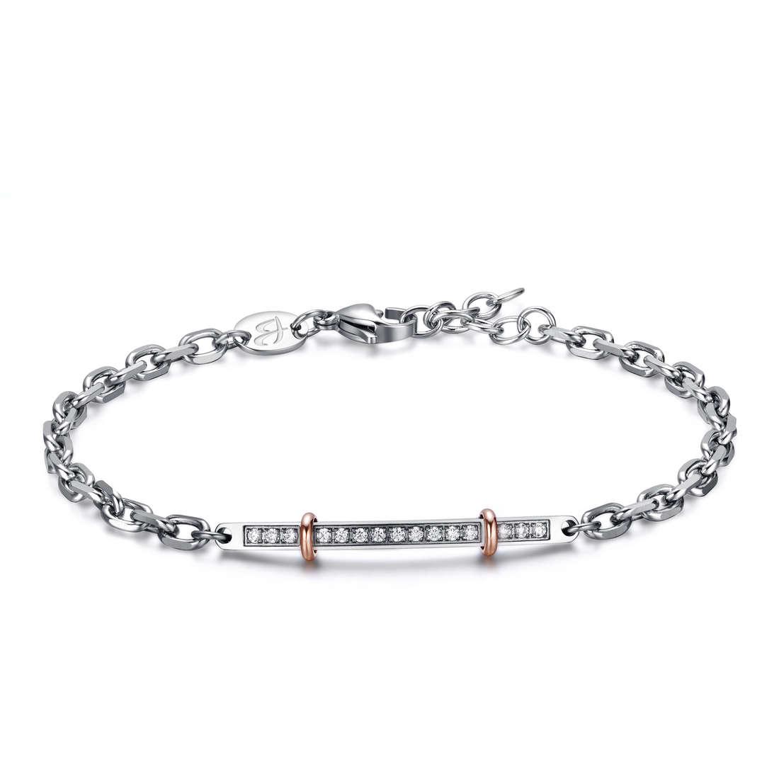 bracelet man jewellery Luca Barra LBBA702