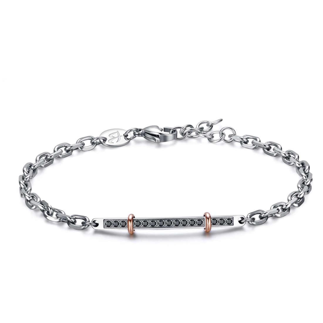 bracelet man jewellery Luca Barra LBBA703