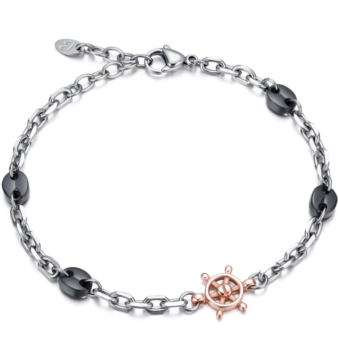 bracelet man jewellery Luca Barra LBBA705