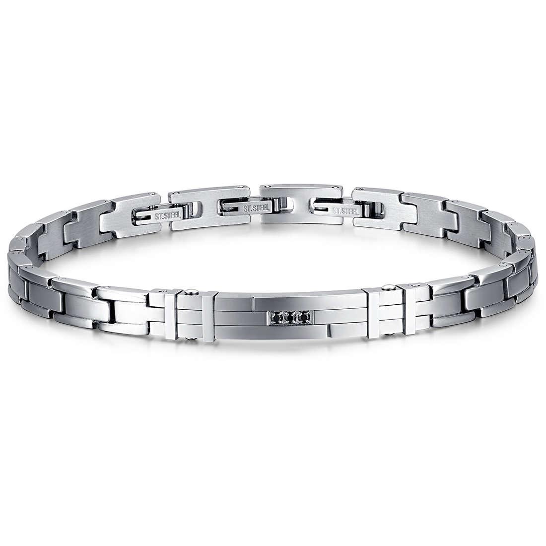 bracelet man jewellery Luca Barra LBBA711