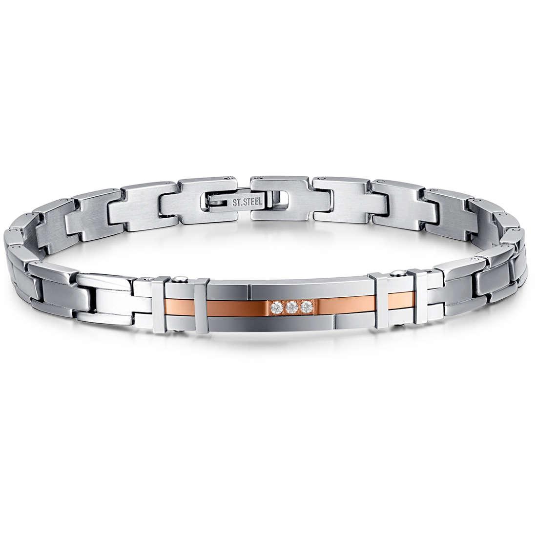 bracelet man jewellery Luca Barra LBBA712