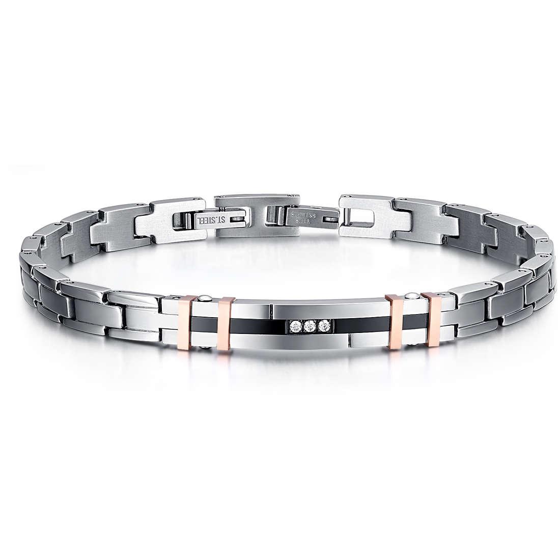 bracelet man jewellery Luca Barra LBBA713